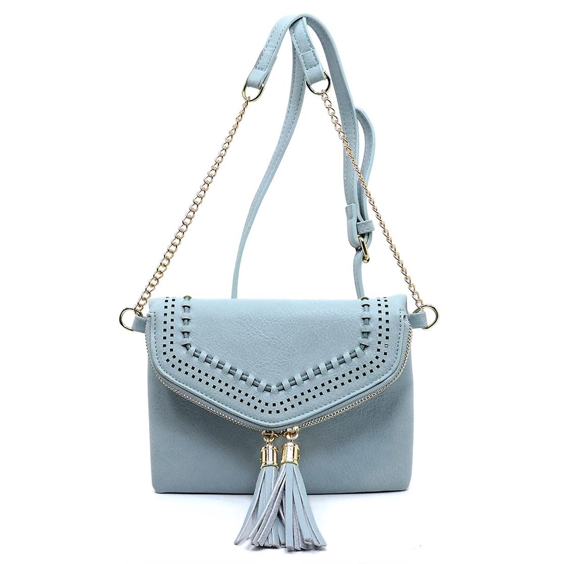 e85fbb41fd FASHION BRIDGE Wholesale Tassel Zip Envelope Crossbody Bag ...