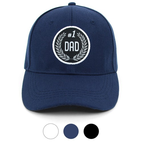 Number One Dad Baseball Cap - orangeshine.com