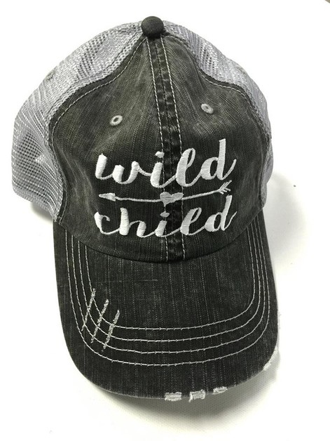 Wild Child Trucker Hat - orangeshine.com