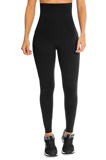Highwaisted Compression Leggings - orangeshine.com