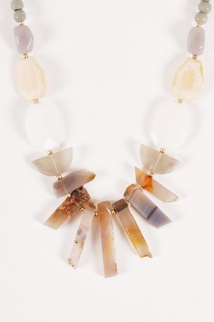 Boho Festival Gemstones Necklaces - orangeshine.com