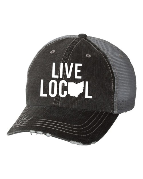 Live Local Ohio White State - orangeshine.com