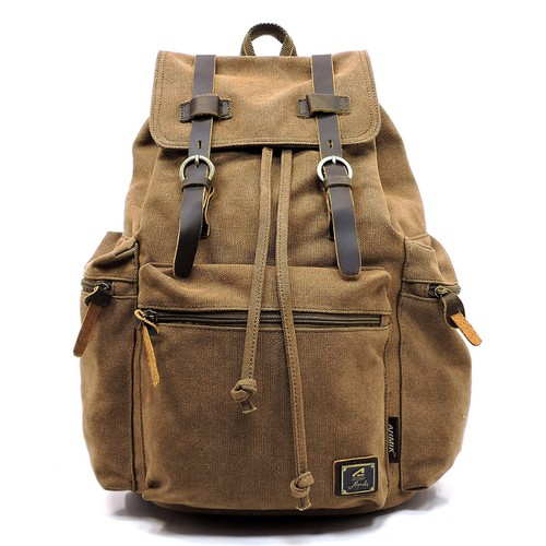Military Canvas Backpack - orangeshine.com