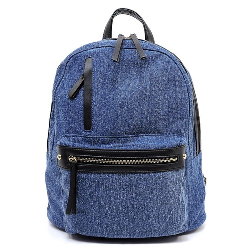 Fashion Denim Backpack - orangeshine.com