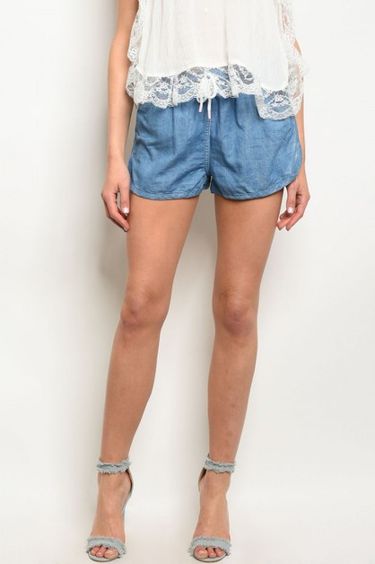 DENIM SHORT  - orangeshine.com