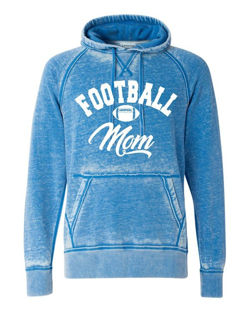 Football Mom Vintage Hoodie - orangeshine.com