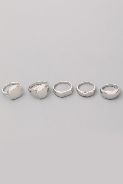 Core Mix Ring Set - orangeshine.com