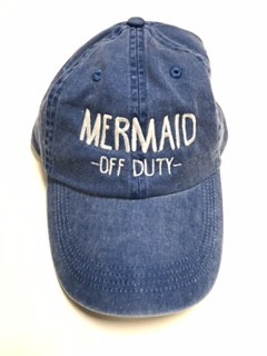 Mermaid Off Duty Baseball Cap - orangeshine.com