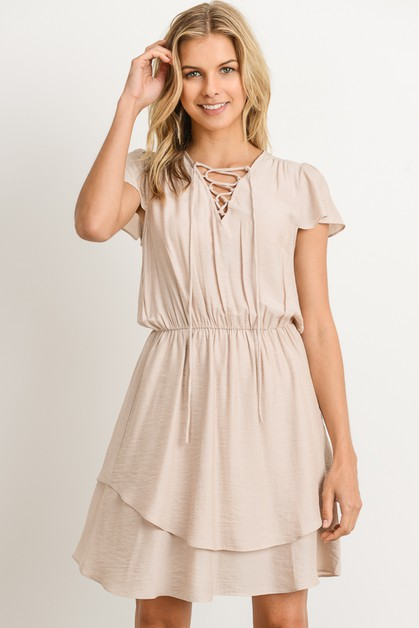 Fit and Flare Dress - orangeshine.com