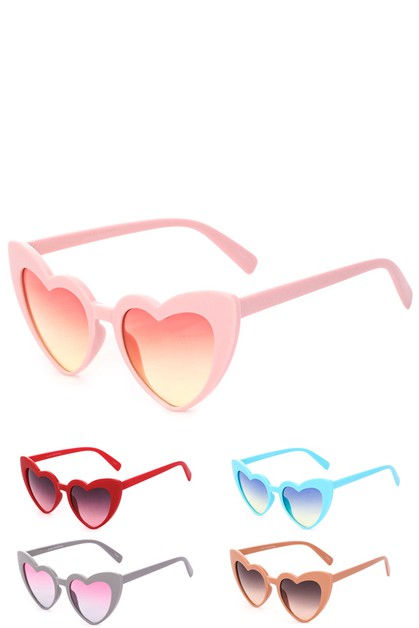 Gimme Your Heart Sunglasses - orangeshine.com