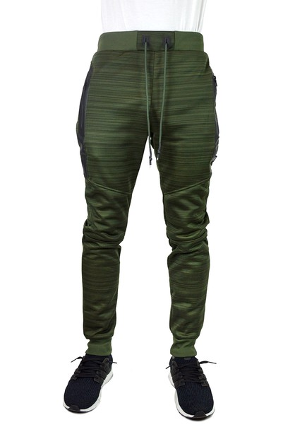 Active Casual Marble Jogger Pants - orangeshine.com
