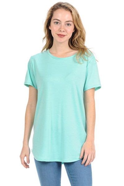 Round Neck Top - orangeshine.com