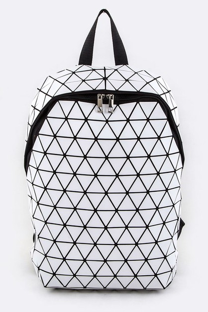 Iconic Geo Backpack - orangeshine.com