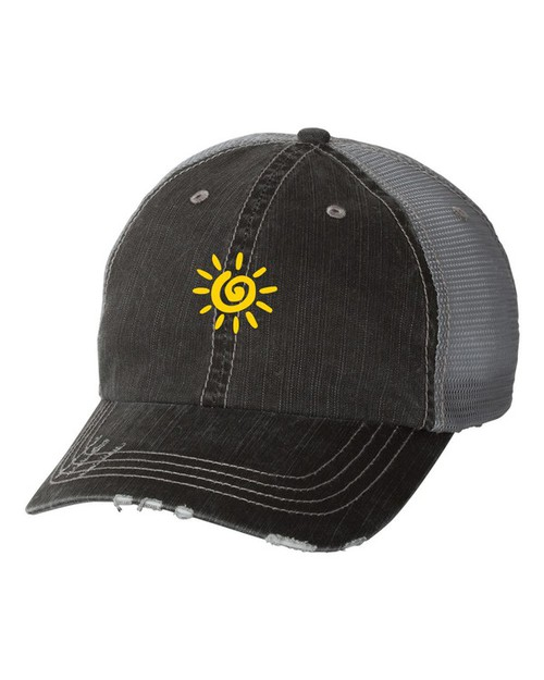 Sunshine Trucker Hat - orangeshine.com