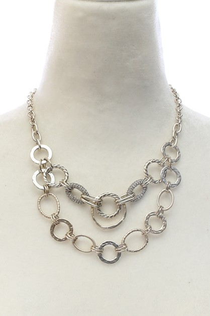 CHAIN PENDANT NECKLACE  - orangeshine.com