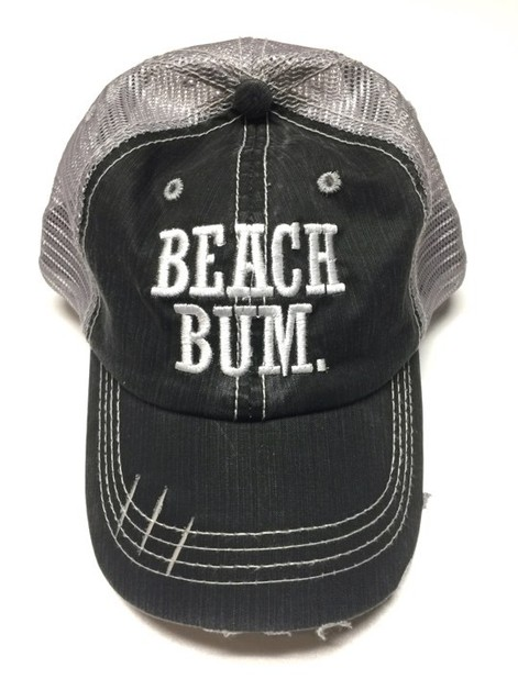 Beach Bum Trucker Hat - orangeshine.com