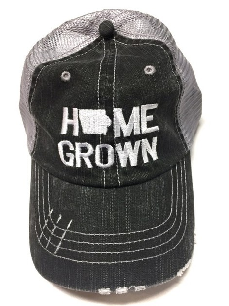 Home Grown Iowa Trucker Hat - orangeshine.com