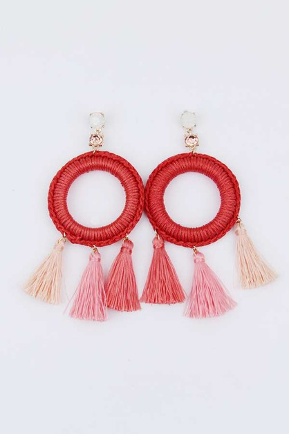 All for you Tassel Earrings - orangeshine.com