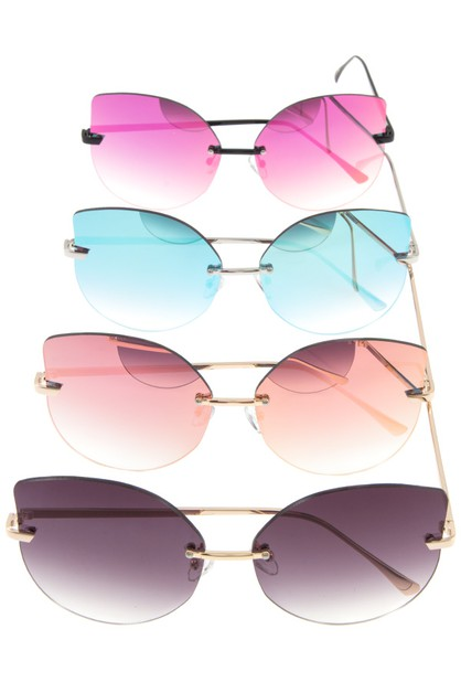 OVERSIZE MIRROR GLASS SUNGLASSES PAC - orangeshine.com