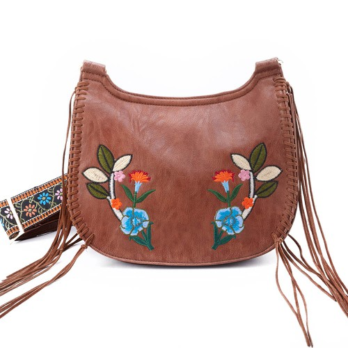 Calla features floral embroidery - orangeshine.com