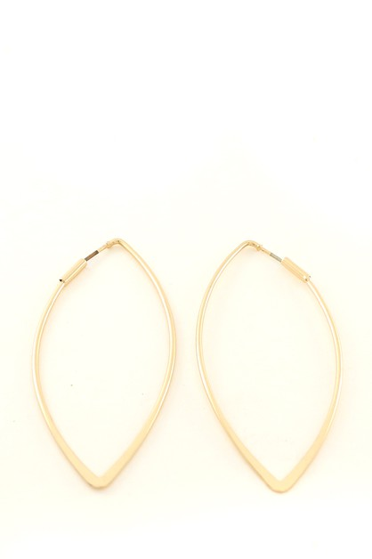 METAL HOOP EARRING - orangeshine.com