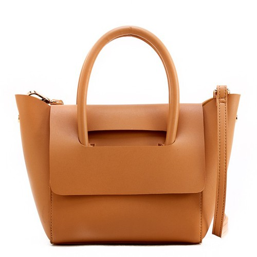 creamy vegan leather bag - orangeshine.com