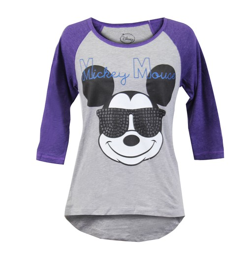 Disney Mickey Mouse Quarter Sleeve T - orangeshine.com