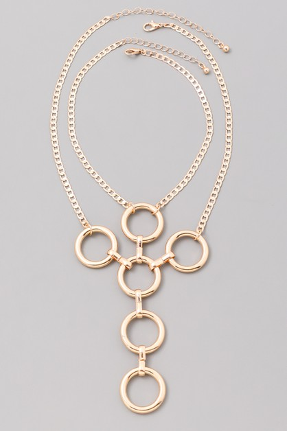 New Look Shielded Necklace - orangeshine.com
