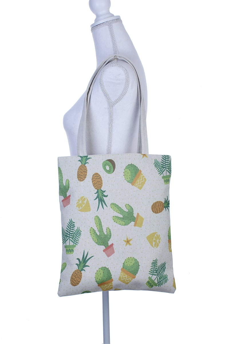 PINEAPPLE AND CACTUS TOTE BAG - orangeshine.com