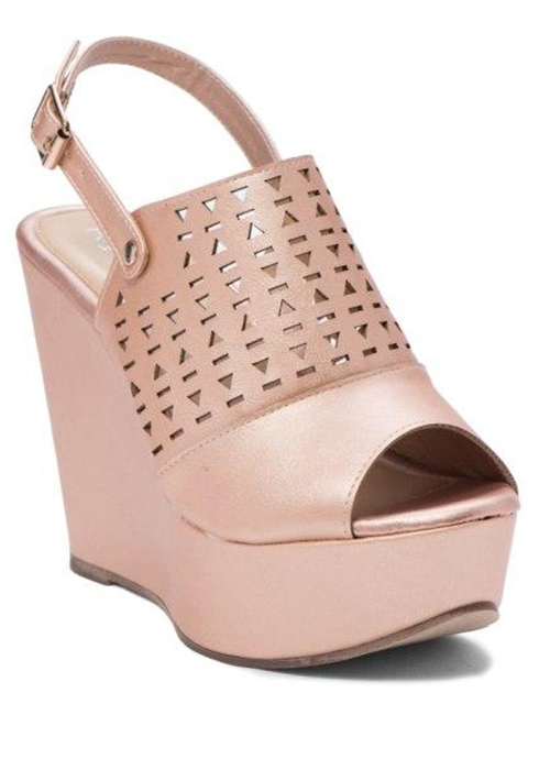 PERFORATED PEEP TOE COVERED PLATFORM - orangeshine.com