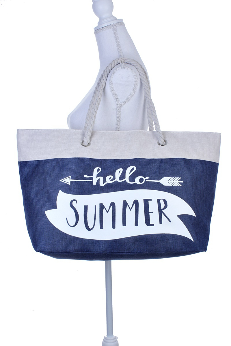 HELLO SUMMER TOTE BAG - orangeshine.com