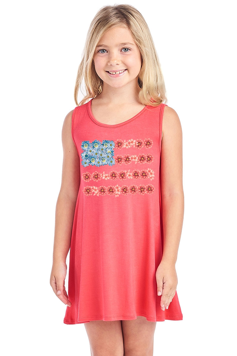 KIDS GRAPHIC DRESS - orangeshine.com