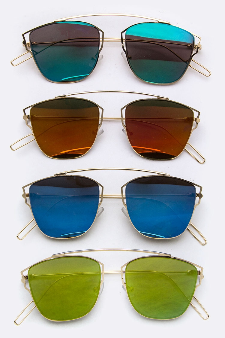 Iconic Browline RV Sunglasses - orangeshine.com