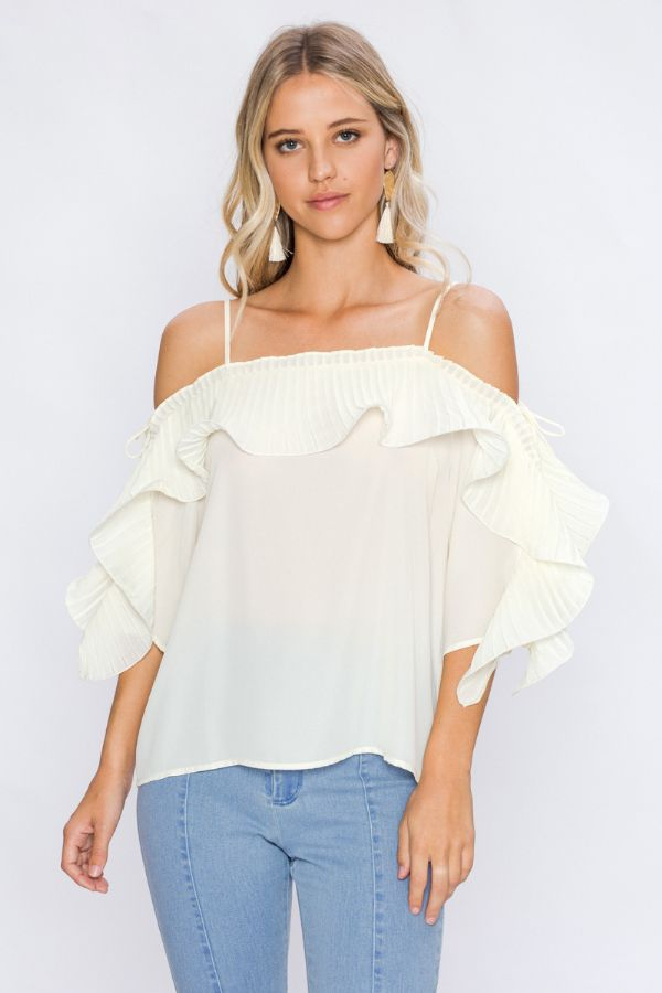 PLEATS TOP - orangeshine.com