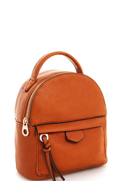 Alba Cute Trendy Backpack Orangeshine