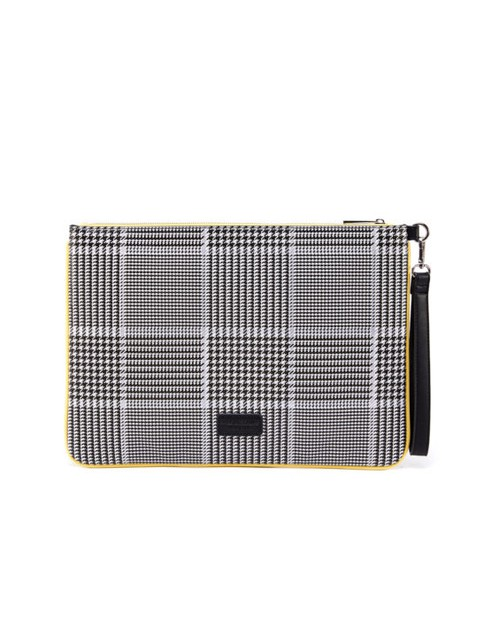 Patterned Clutch - orangeshine.com