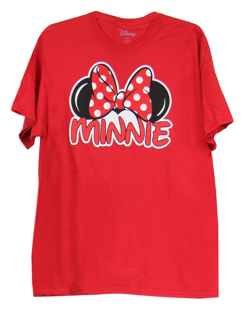 Disney Minnie Mouse Logo T-shirt  - orangeshine.com