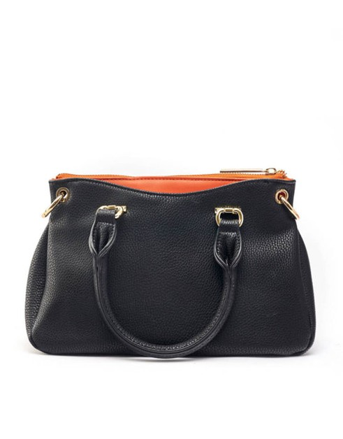 Classy Top Handle Mini Satchel - orangeshine.com