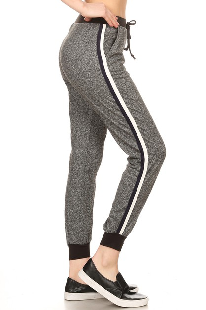 Grey joggers Sweat Pants Soft brush - orangeshine.com