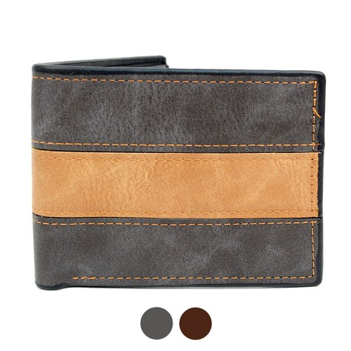 Bi-Fold Leather Wallet - orangeshine.com