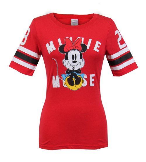 Disney Minnie Mouse Varsity Top - orangeshine.com