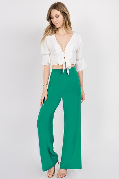 High waist pants - orangeshine.com