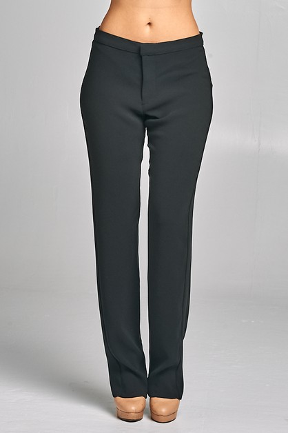 Straight Leg Modern Pants - orangeshine.com