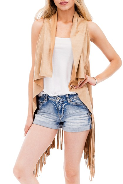 Sleeveless Cardigan - orangeshine.com