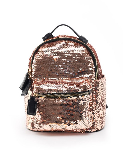 Mini Sequence Backpack  - orangeshine.com
