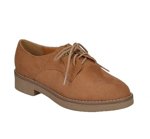 MERLE 18Pack Soda Flat Dress Oxfords - orangeshine.com