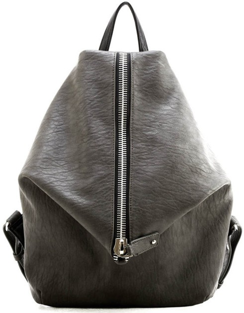 Unique Modern Vegan Leather Backpack - orangeshine.com