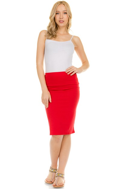 MIDI SKIRT  - orangeshine.com