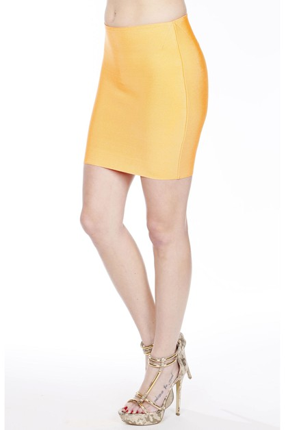 Mini Bandage Skirt - orangeshine.com