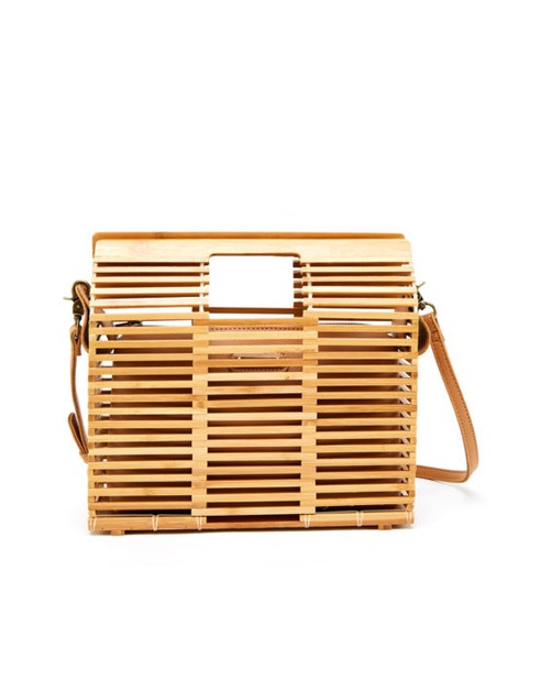Small Version Bamboo Satchel - orangeshine.com